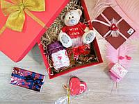 """Подарочный набор для любимой """"For you, Baby""""с именным любовным письмом"""