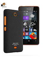 Пластиковий чохол Imak для Microsoft Lumia 430 чорний, фото 1
