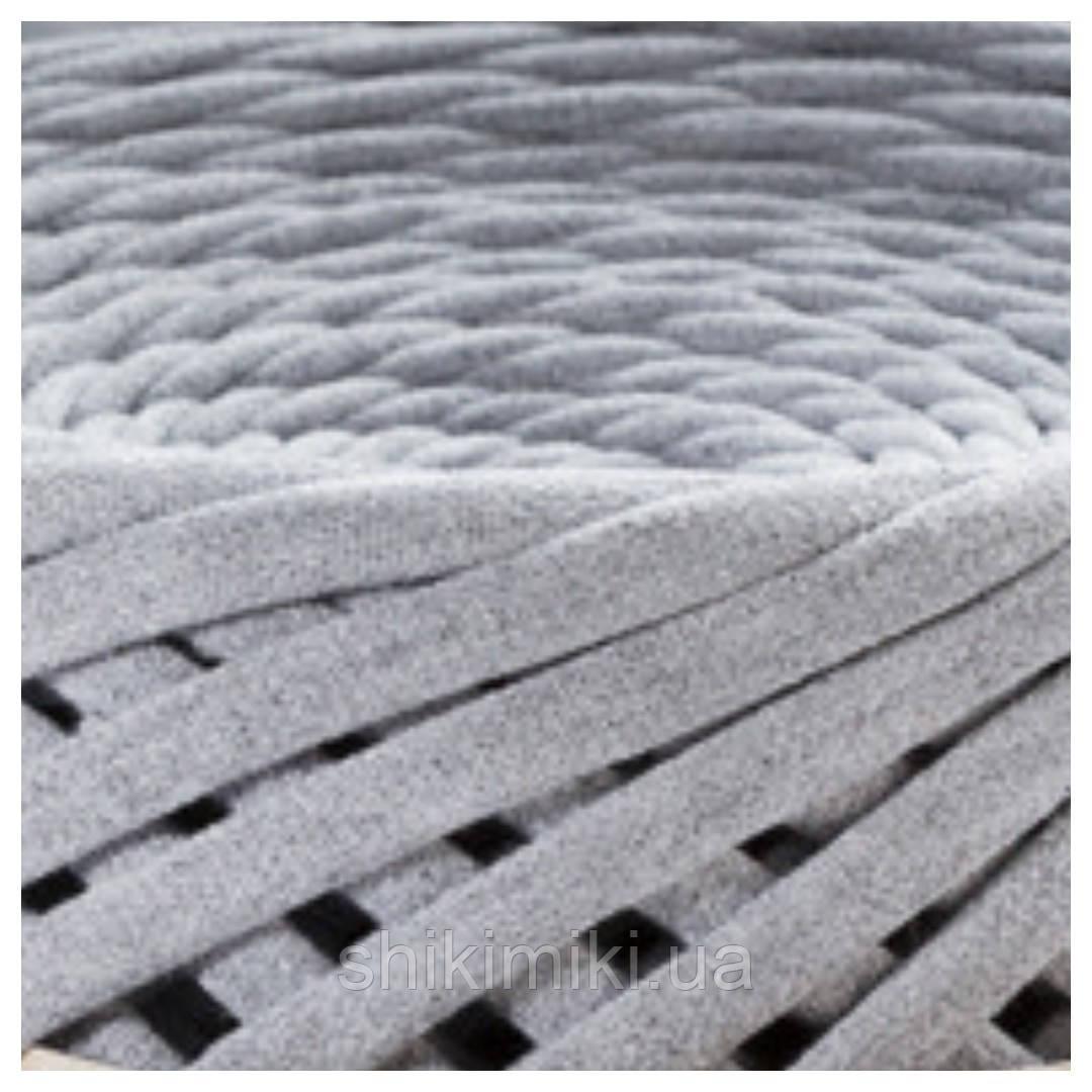 Трикотажная пряжа (50 м), цвет Серый меланж