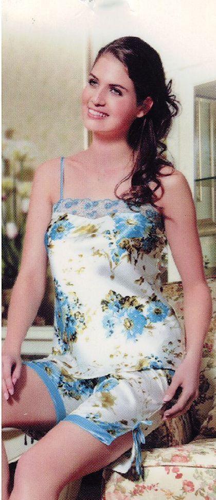 Пижама женская майка с бриджами  фирма Funilai