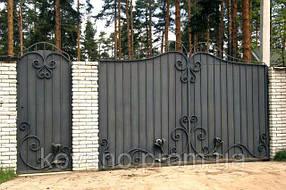 Ковані ворота( Ковані Брами) середньої складності