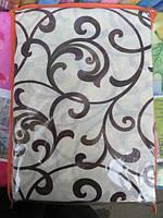 Полуторное постельное белье ткань поликоттон вензель