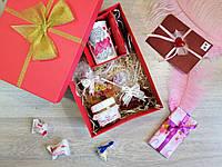 """Подарочный набор для любимой """"Романтика""""с именным любовным письмом"""