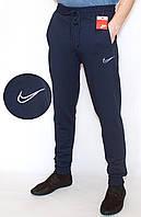 Спортивные штаны мужские синие NIKE манжет (копия)