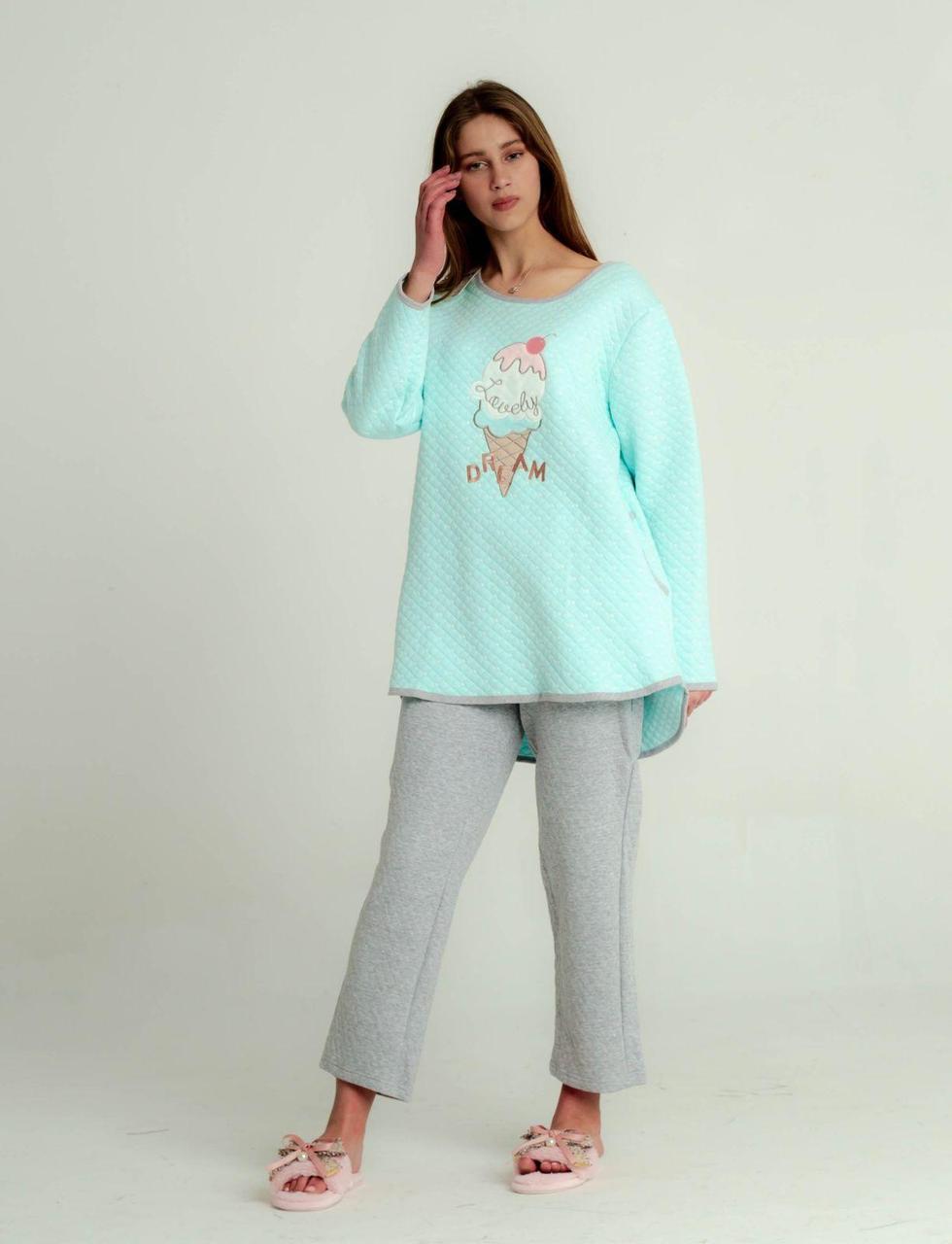 Пижама женская однотонная   фирмы MASSIMO MONELLI