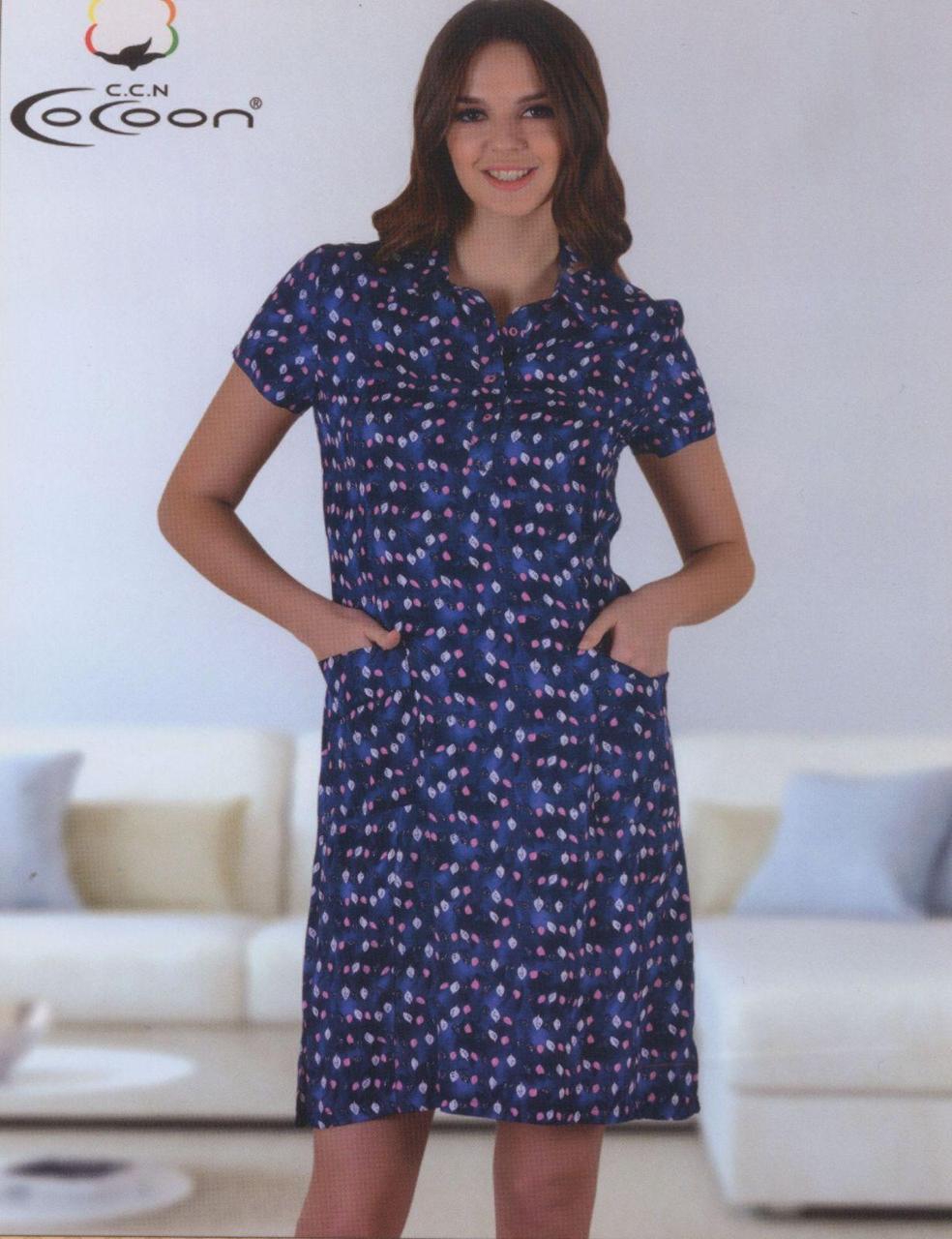 Женское домашнее платье   фирмы CoCoon 10628
