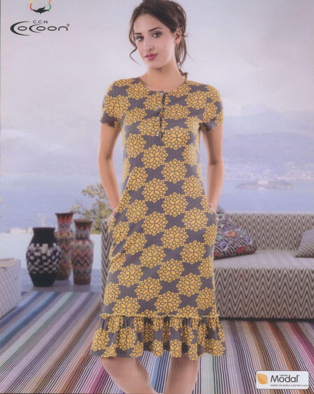 Женское домашнее платье   фирмы CoCoon