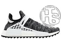 b5759c944f3b15 Мужские кроссовки Adidas Human Race NMD Pharrell Oreo Core Black Footwear  White AC7359
