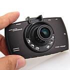 Видеорегистратор автомобильный HD 129 Full HD 1080P одна камера классический, фото 3