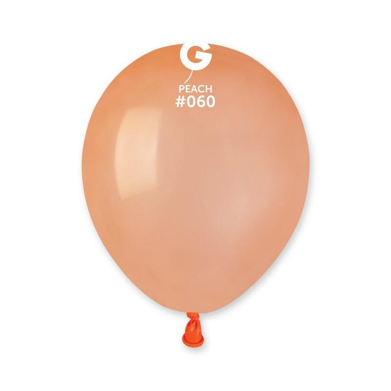 Повітряні кулі латексні G110_60 Gemar Італія, колір: пастель персиковий, Діаметр 12 дюймів/30 см, 100 шту