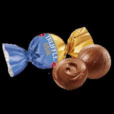 Подарочная коробка с 21 цветком из конфет! Трюфель молочный (АВК), фото 3