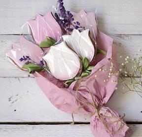 Пряничные букеты тюльпанов