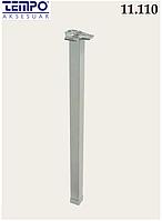 Квадратная опора для стола Tempo 11.110.45 анодированный алюминий 40х40 мм,