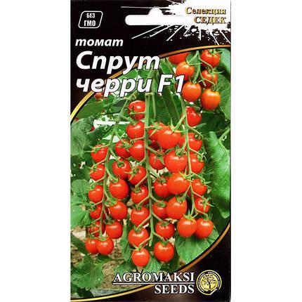 """Насіння томатного дерева, високорослого """"Спрут черрі"""" F1 (0,1 г) від Agromaksi seeds, фото 2"""
