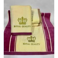 Вилюровые банные полотенце 140*70   6 шт в уп.