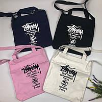 Тканевая сумка   Stussy logo
