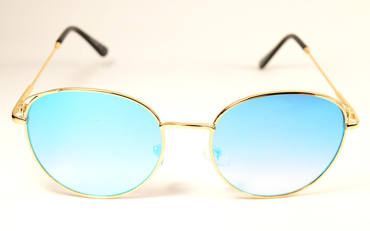Солнцезащитные круглые очки (9313 С4)