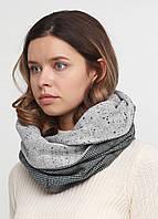 Дизайнерский шерстяной шарф-снуд ручной работы TamiMore (030)