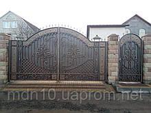 Ворота кованые (MS-VKR-014)
