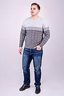Мужской свитер Афанасий (серый)