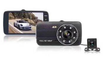 Автомобільний відеореєстратор DVR S16 Full HD 1080P одна камера класичний в машину реєстратор