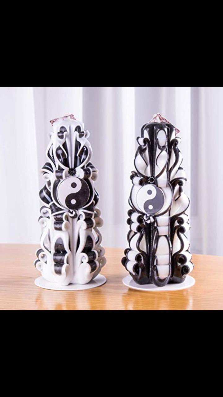 Набор свечей для подарка. Красиво сочетается с мебелью, хорошо украшает интерьер, темные тона