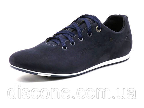 Мужские спортивные туфли GS-comfort, нубук, темно-синие