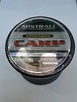 Леска Mistrall 1000 м 0,30 мм