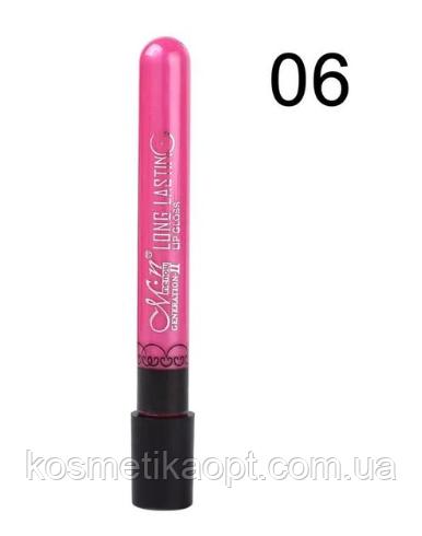 Матовая помада M.N MeNow № 06 Generation-II Long Lasting Lip Gloss