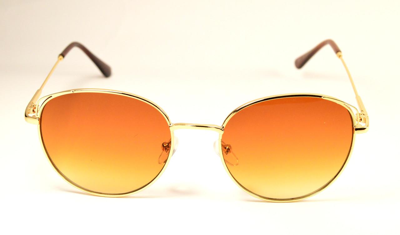 Солнцезащитные круглые очки (9313 С2)