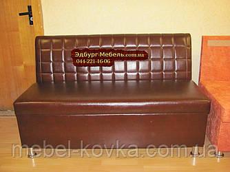 """Диван для лоджії з ящиком """"Кубик"""" 120х60х90см"""