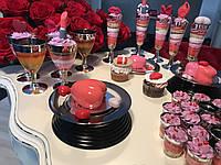 Сервировочная посуда тарелки стекловидные для фуршета банкета презентаций выставки PARTY CFP 6шт/уп 155мм