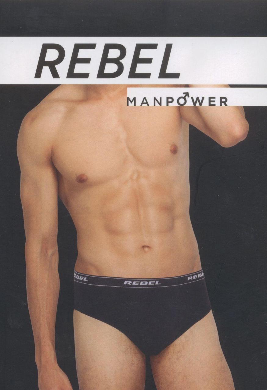 Плавки мужские слипы фирмы REBEL (Турція,  5464)