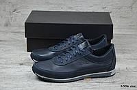 Мужские кожаные кроссовки Polo (Реплика), фото 1
