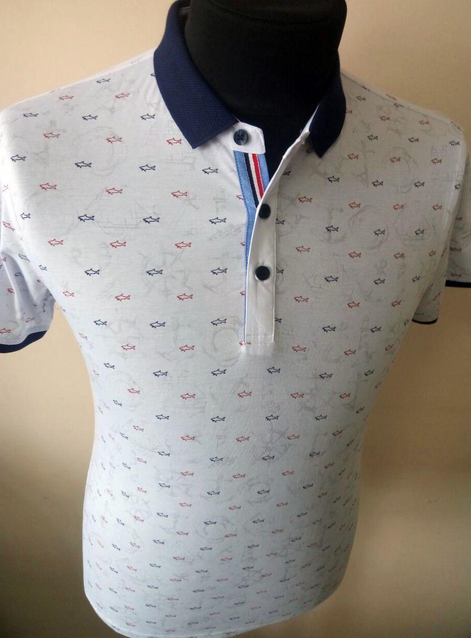 Футболка -тениска с натурального эко хлопка фирмы PAUL Shark