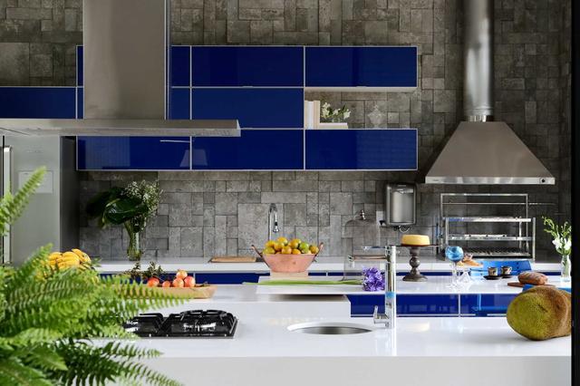 Кухонная столешница - кварц Silestone Blanco Zeus - Photo