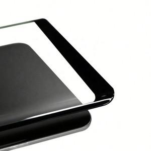 Защитное стекло 3D Samsung S6 Edge (изогнутое) черное