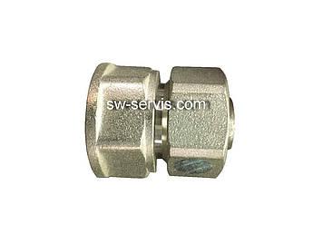 Муфта с внутренней для металлопластиковой трубы 20*1/2 усиленная Forte