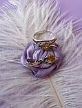 Срібний комплект Мишка (сережки, кільце, кулон), фото 5