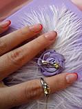 Срібний комплект Мишка (сережки, кільце, кулон), фото 10