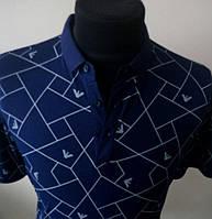Футболка -тениска с натурального эко хлопка фирмы EMPORIO ARMANI