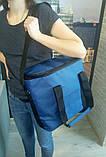 Термосумка для еды 18 л, сумка-холодильник с аккумулятором холода в комплекте, фото 5