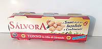 Тунец в подсолнечном масле SALVORA (Италия) 240г