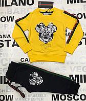 Детский  спортивный костюм  для девочки бренд Гуччи