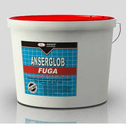 Затирка для плитки ANSERGLOB FUGA (эластичный водостойкий шов до 8 мм)  (1 кг, белая)
