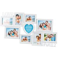 """Большая мультирамка на 9 фотографий """"love & Family"""""""
