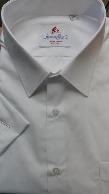 Рубашка мужская Leonardo Savelli короткий рукав