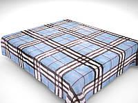 Плед акриловый двухспальный Шотландка (Solaron)