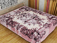 Плед Букет роз акриловый двухспальныйFugio (Япония)
