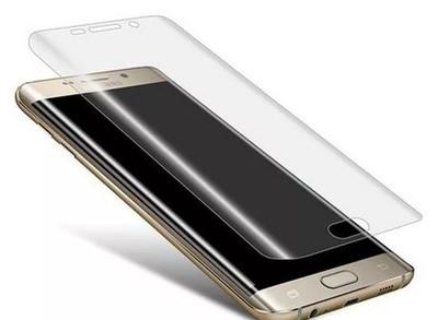 Защитное стекло 3D Samsung S6 Edge (изогнутое) прозрачное